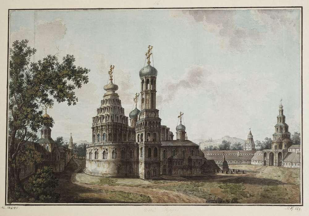 Новый Иерусалим. Собор Воскресения Христова - Алексеев Федор Яковлевич