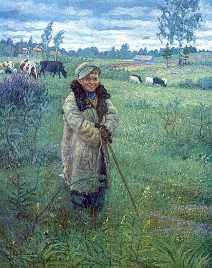 Пастушок Прошка - Богданов-Бельский Николай Петрович