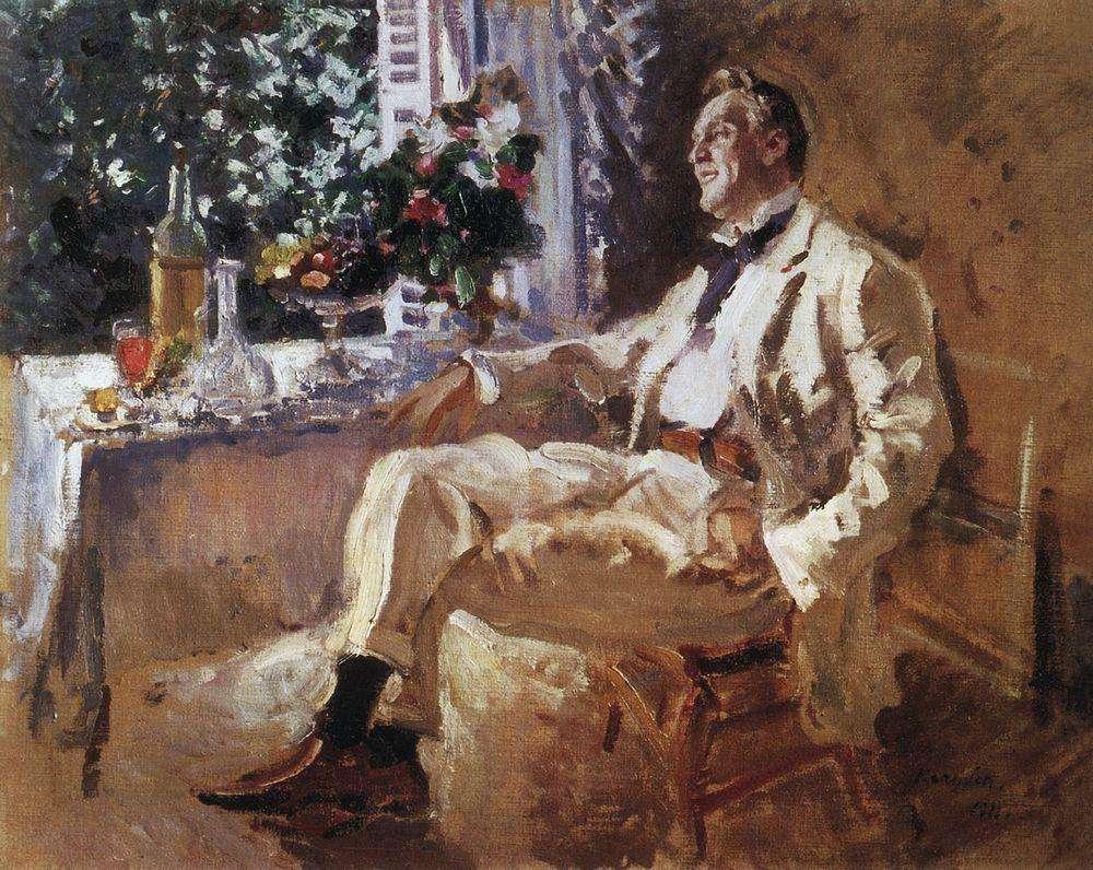 Портрет Ф.И.Шаляпина. 1911 - Коровин Константин Алексеевич