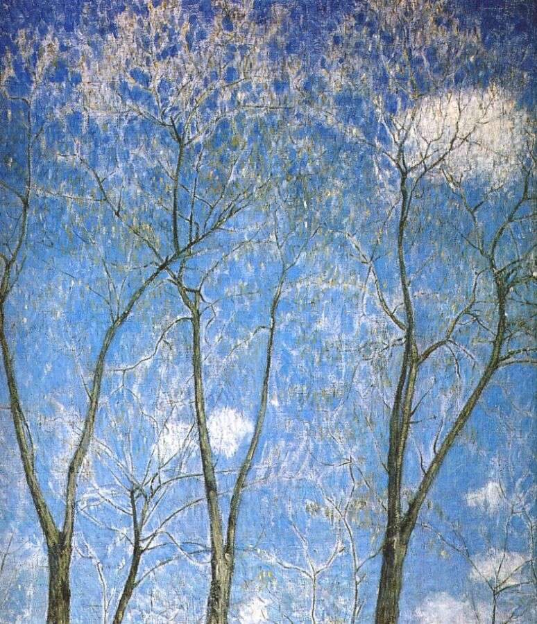 larionov_acacias_in_spring_1904 - Ларионов Михаил Федорович