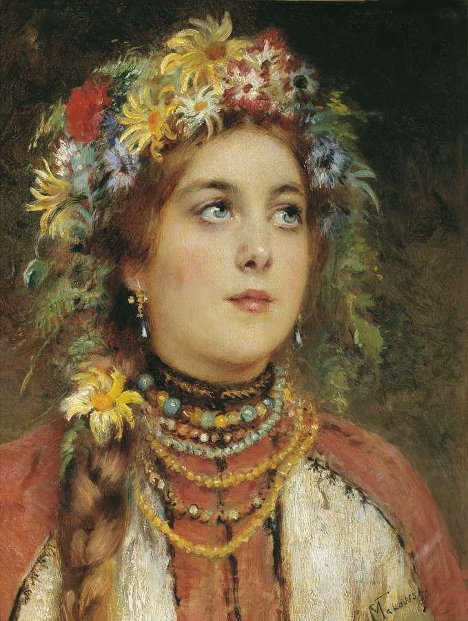 Русская красавица - Маковский