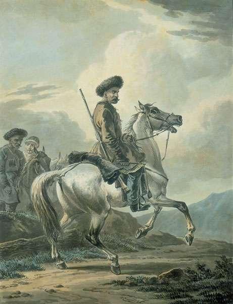 Всадник. 1826 - Орловский Александр Осипович