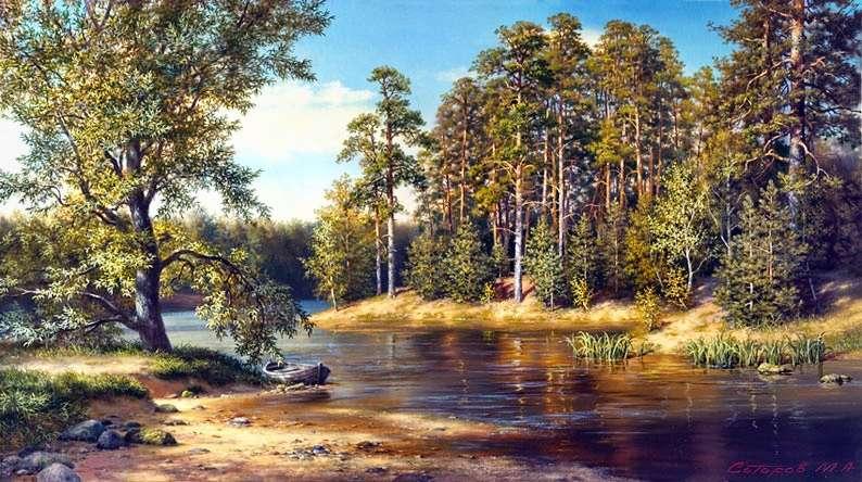 Художник Михаил Сатаров: пейзаж, картины моря, фэнтази, портрет, Венеция.