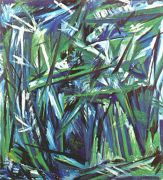 goncharova_green_forest_1911 - Гончарова