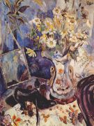 goncharova_still_life_with_shoe_and_mirror_c1906 - Гончарова