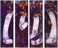 goncharova_the_evangelists_(in_four_parts)_1911 - Гончарова
