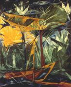 goncharova_yellow_and_green_forest_1913 - Гончарова