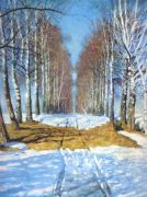 grabar_birch-tree_walk_1940 - Грабарь
