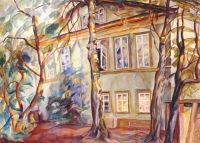grigoriev_house_under_the_trees_1918 - Григорьев