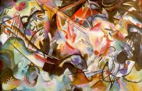 Kandinsky Composition VI, 1913, oil on canvas, Hermitage, St - Кандинский