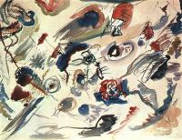 Kandinsky First Abstract Watercolor, 1910, Collection of Mad - Кандинский