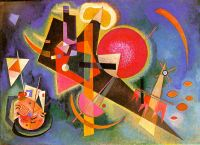 Kandinsky In the blue, 1925, 80x110 cm, Kunstsammlung Nordrh - Кандинский