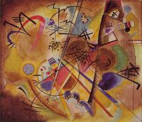 Kandinsky Small dream in red, 1925, 35.5x41.2 cm, Kunstmuseu - Кандинский