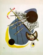 Kandinsky Small Worlds II, 1922, color lithograph, four ston - Кандинский