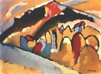 Kandinsky Study for Autumn, 1909, Gabriele Munter Foundatio - Кандинский