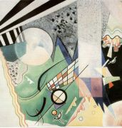 kandinsky-green composition - Кандинский