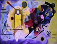 kandinsky.yellow-red-blue - Кандинский