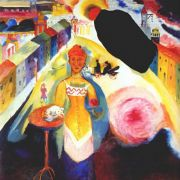 kandinsky_lady_in_moscow_1912 - Кандинский