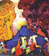 kandinsky_the_blue_mountain_1908-9 - Кандинский