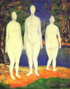 malevich_bathing_women_dated-1908 - Малевич