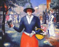 malevich_flower_girl_c1929-30 - Малевич