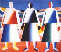 malevich_girls_in_the_field_c1928-32 - Малевич