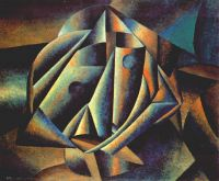 malevich_head_of_a_peasant_girl_1912-13 - Малевич