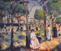 malevich_on_the_boulevard_dated-1903 - Малевич