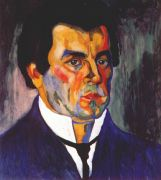 malevich_self-portrait_ii_c1908-9 - Малевич