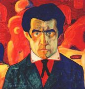 malevich_self-portrait_i_c1908-9 - Малевич