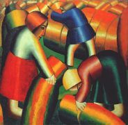 malevich_taking_in_the_rye_1912 - Малевич