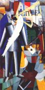 malevich_the_aviator_1914 - Малевич