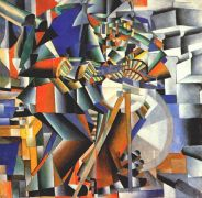 malevich_the_grinder_(principle_of_flickering)_1912-13 - Малевич
