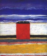 malevich_the_red_house_c1932 - Малевич