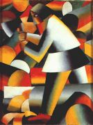 malevich_the_woodcutter_1912 - Малевич