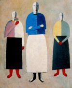 malevich_three_women_1928-32 - Малевич
