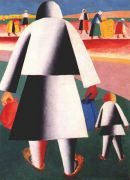 malevich_to_the_harvest_(marfa_and_vanka)_c1927-9 - Малевич