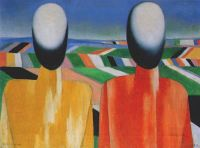 malevich_two_peasants_1928-32 - Малевич