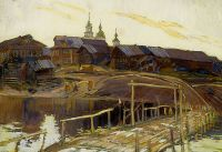 Perepletchikov Vasily Porog village on the Onega Sun - Переплетчиков