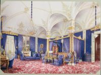 39.Premazzi.Luigi-Interiors.of.the.Winter.Palace.The.Bedchamber.of.Empress.Maria.Alexandrovna - Премацци