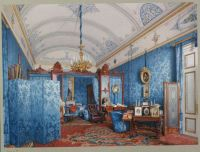 40.Premazzi.Luigi-Interiors.of.the.Winter.Palace.The.Dressing.Room.of.Empress.Maria.Alexandrovna - Премацци