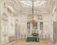 41.Premazzi.Luigi-Interiors.of.the.Winter.Palace.The.Green.Dining.Room - Премацци
