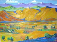 1926 Armenia. Oil on canvas. 85x110 - Сарьян