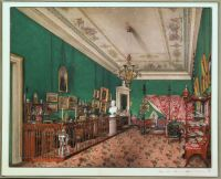 Interiors.of.the.Winter.Palace.The.Bedroom.of.Grand.Princess.Maria.Nikolayevna - Ухтомский
