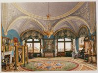 Interiors.of.the.Winter.Palace.The.Corner.Drawing-Room.of.Emperor.Nicholas.I - Ухтомский