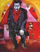 chagall_jew_in_red_1915 - Шагал