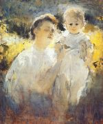 shemyakin_maternity_(mother_and_child_in_sun)_1907 - Шемякин